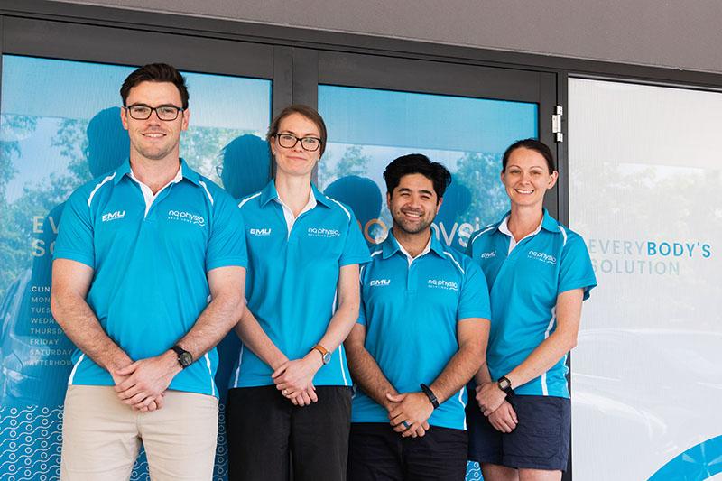 North Queensland Physio Team Photo